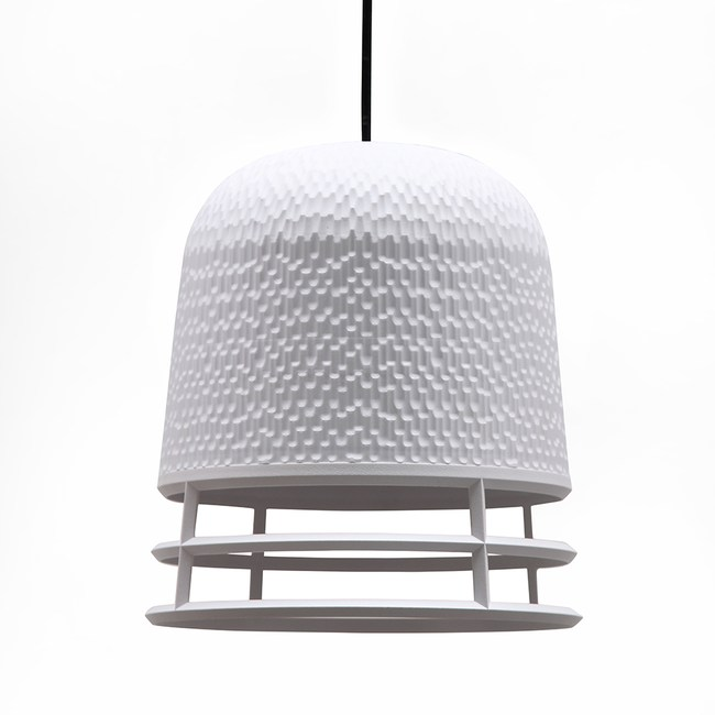 QUALY|卡維爾-環燈罩S(白)