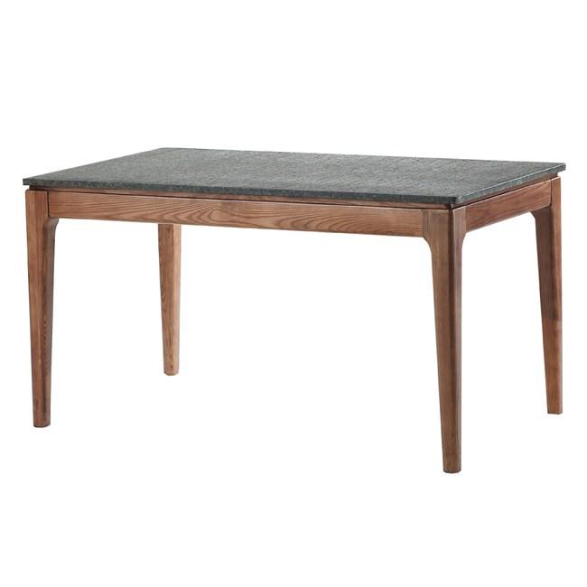 【YFS】奈特4.6尺石面餐桌-140x80x74cm