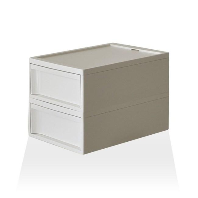 【RISU】北歐風堆疊抽屜櫃組 M -白色