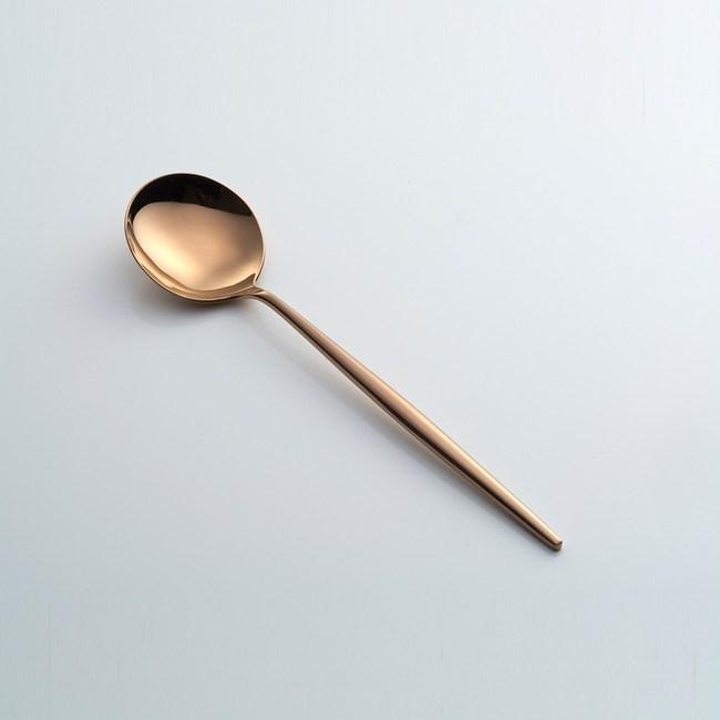 Cutipol MOON COPPER 餐用湯匙