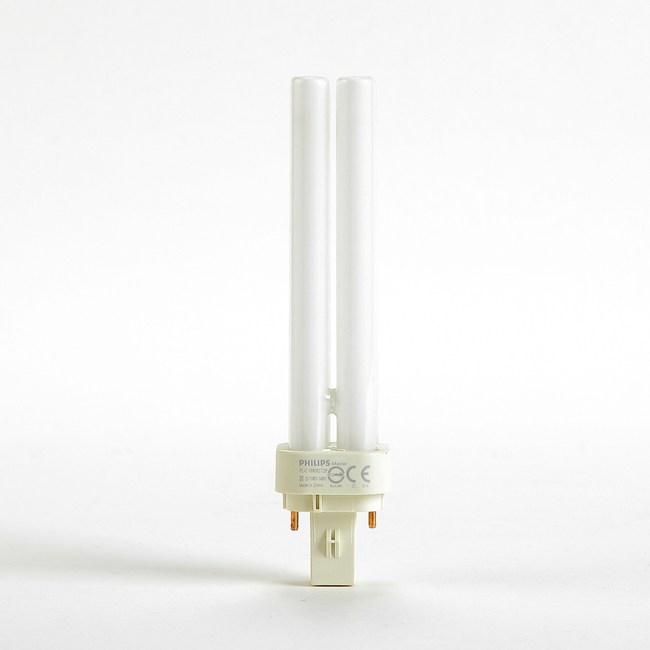 飛利浦PLC18W螢光燈管黃光1P