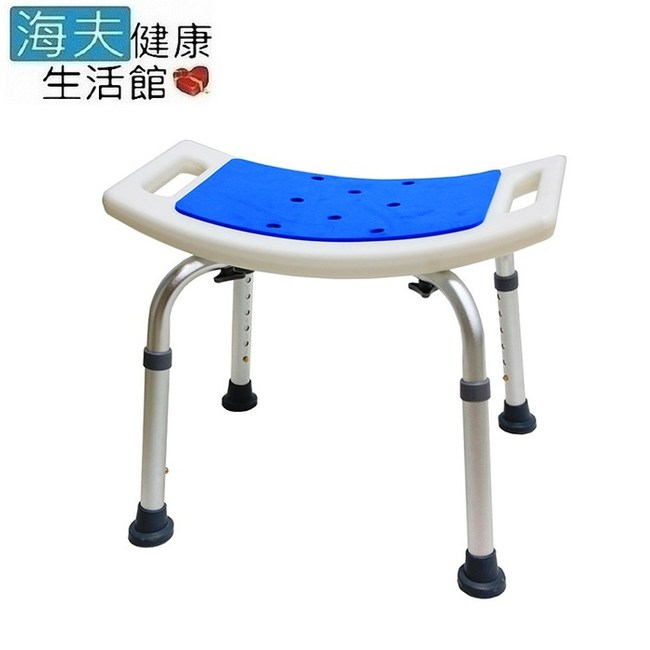 【海夫】必翔 EVA坐墊 高度可調 無背洗澡椅(YK3010-1)
