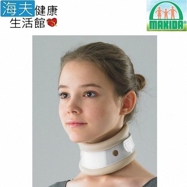 MAKIDA四肢護具(未滅菌)【海夫】真皮 頸椎固定器 護頸(205)S (脖圍11~16