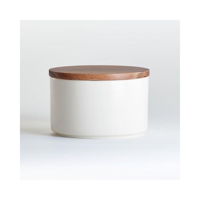 Crate&Barrel CLARA 收納罐(M)