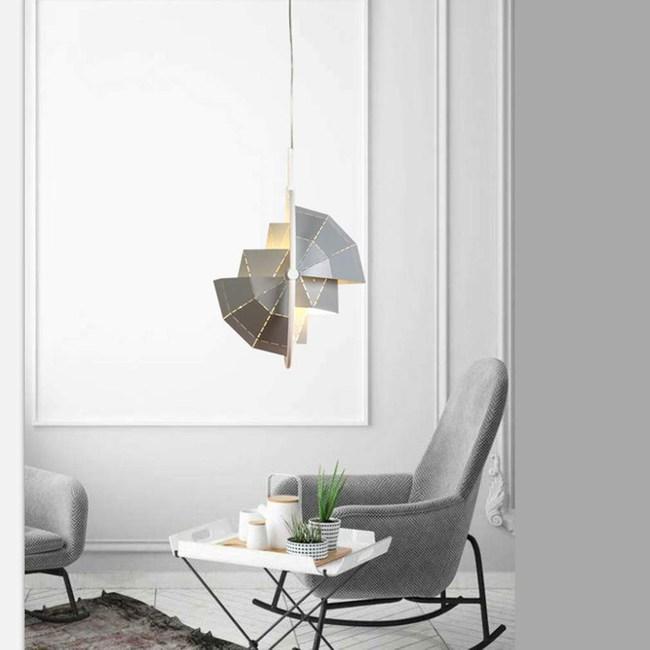 HONEY COMB  北歐風科技感吊燈 銀色 TA7599R