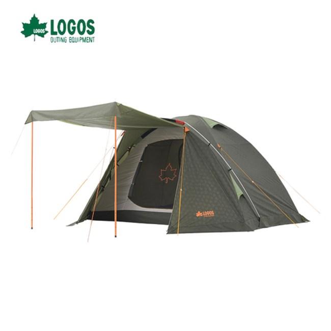日本LOGOS NEOS PLR XL五人帳篷 前庭帳蓬 蒙古包 登山