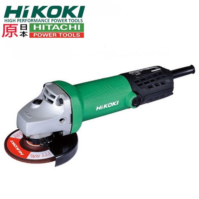 """【HIKOKI 銲固力】G10ST 細柄大馬力 4"""" 平面砂輪機 研磨機"""