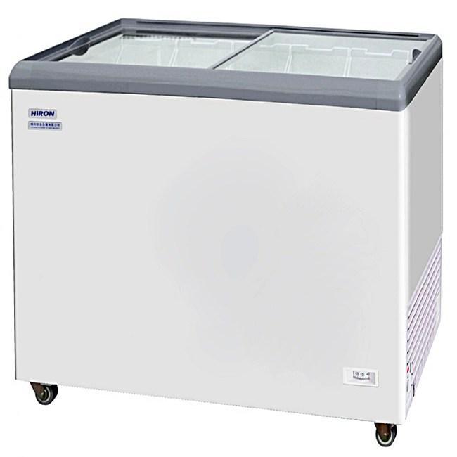 Hiron海容 4尺4 平面玻璃推拉冷凍櫃 (HSD-458)
