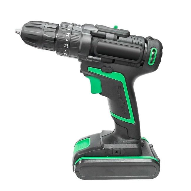 【預購】2020真25V衝擊版電鑽33件豪華組墨綠色