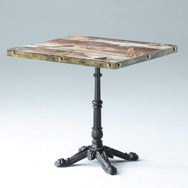 【YFS】格拉斯四方餐桌-70x70x75cm