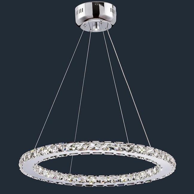 HONEY COMB LED 24W水晶圓型餐吊燈BL91331