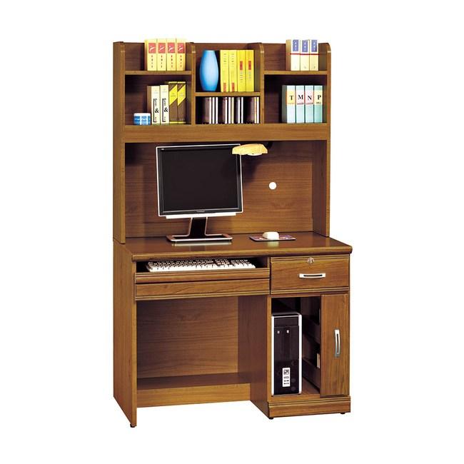 【obis】樟木實木4.2尺書桌組(樟木色 實木 4.2尺 書桌組)樟木色