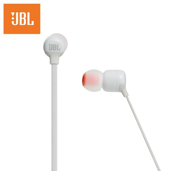 JBL 耳道式無線藍牙耳機T110BT-WHT