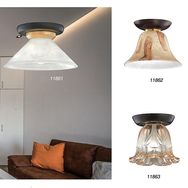 【PW居家燈飾】 現代美學單吸頂燈白色玻/玄關燈/走道燈