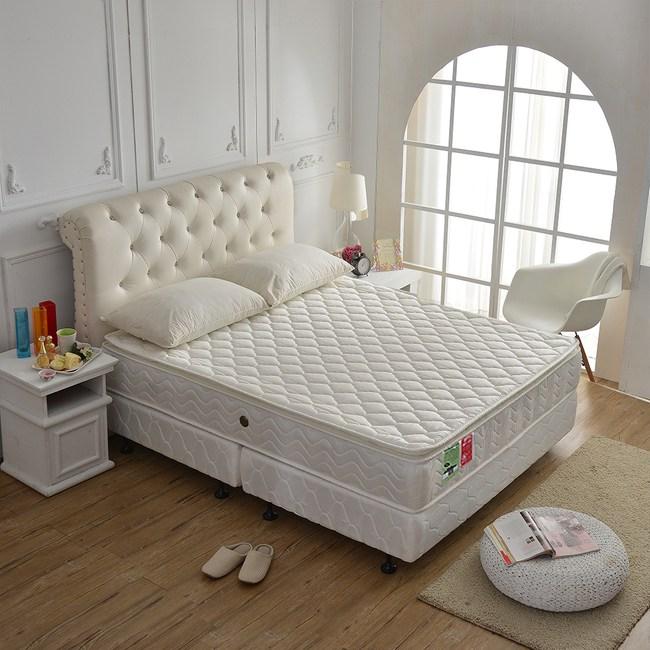 【睡芝寶】正三線3M防潑水高蓬度機能獨立筒床墊雙人5尺