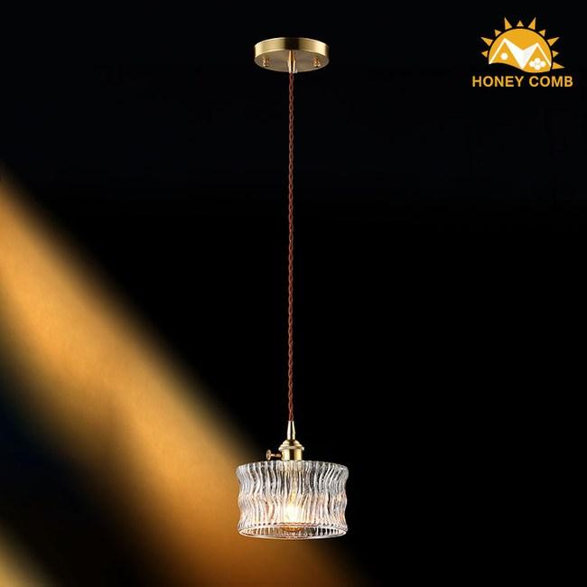 HONEY COMB 高工藝玻璃單吊燈 TA7659R