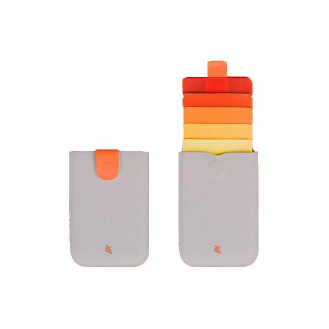 ALLOCACOC Dax V2 卡片收藏夾-橘色