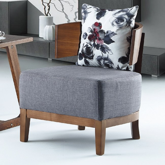 【YFS】馬克休閒椅-60x65x65cm