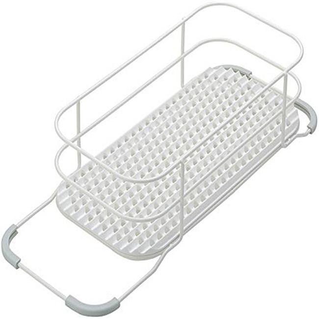 【LIBERALISTA 】水槽多功能瀝水籃架 - 白色