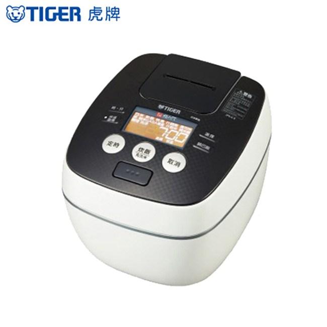 TIGER虎牌10人份可變壓力IH炊飯電子鍋(白色) JPB-G18R