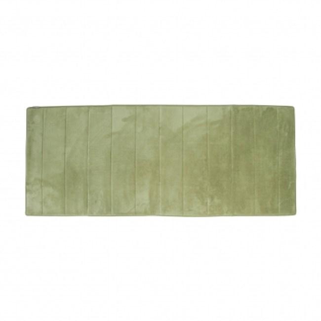 Microdry 舒適記憶棉地墊61x147cm綠色