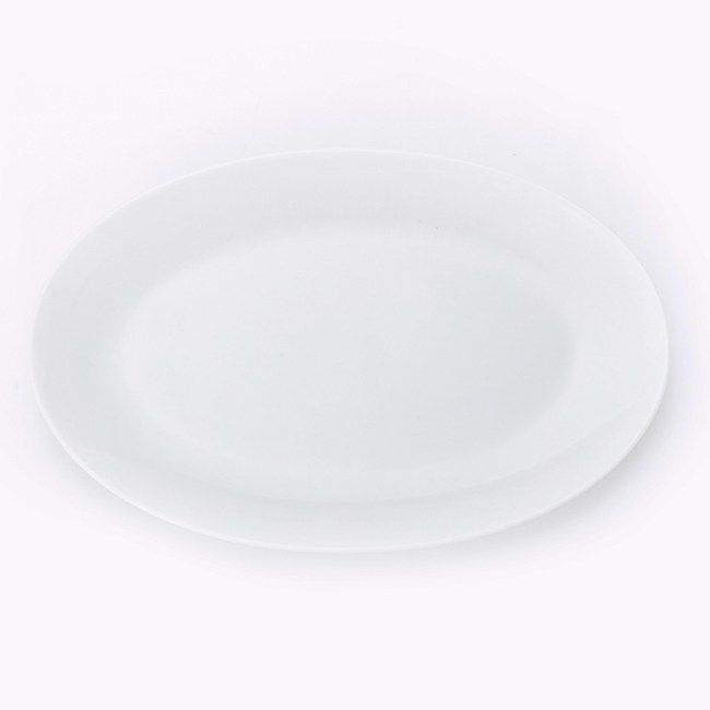 HOLA 雅堤橢圓盤 24.5cm 可適用烤箱/微波爐/洗碗機