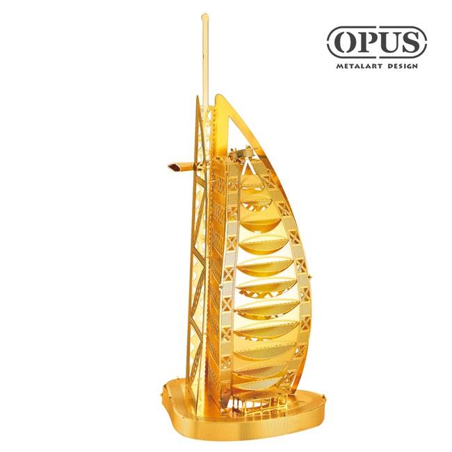OPUS 3D立體金屬拼圖/益智DIY建築模型(杜拜帆船酒店)