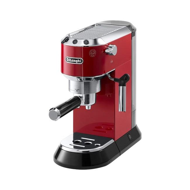 DeLonghi 迪朗奇半自動義式濃縮咖啡機  EC680(紅色)