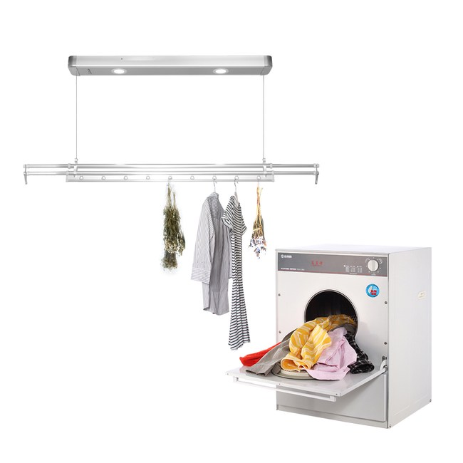 台熱牌萬里晴曬衣乾衣組(乾衣機+TCM-210BS)(附基本安裝)乾衣機+210BS`
