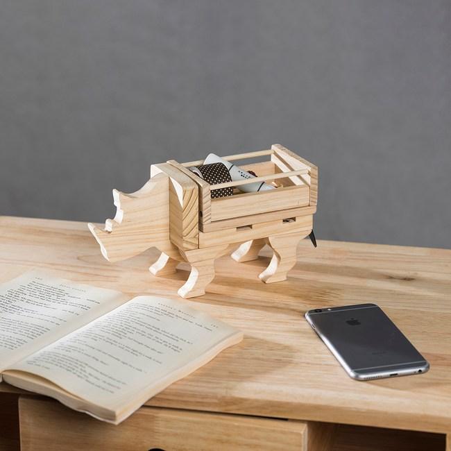 DIY材料包 犀牛兩用收納架