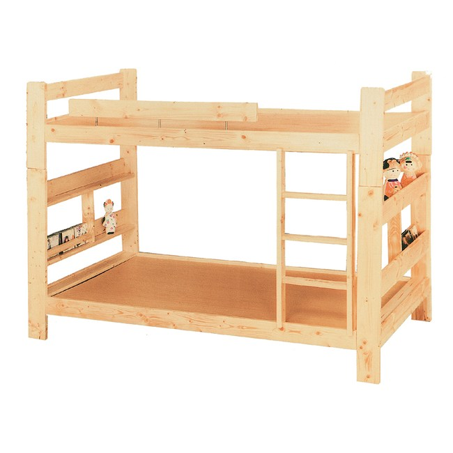 【YFS】蘿拉3.5尺單人加大雙層床-102x209x147cm