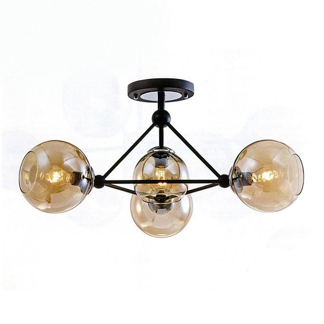 YPhome 工業風半吸頂燈 S81404H
