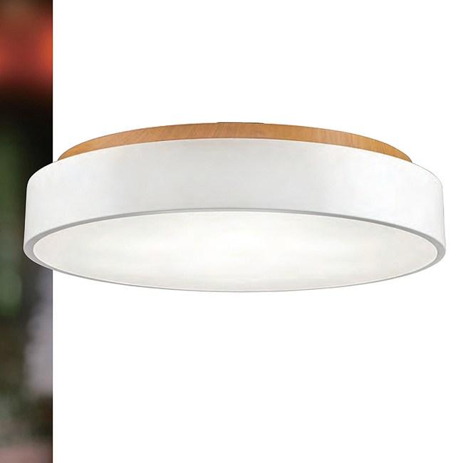 【YPHOME】 北歐風圓形吸頂臥室5燈(白色/直徑47)