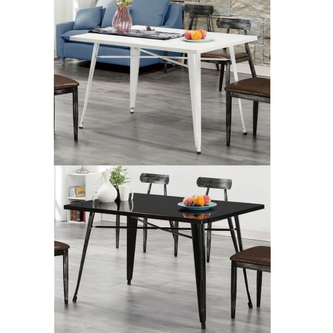 【MUNA 家居】凱莎4尺餐桌(不含椅)黑色