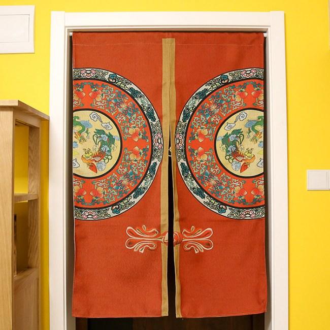 HONEY COMB 中國傳統紋飾 棉麻門簾 風水簾GT-3530