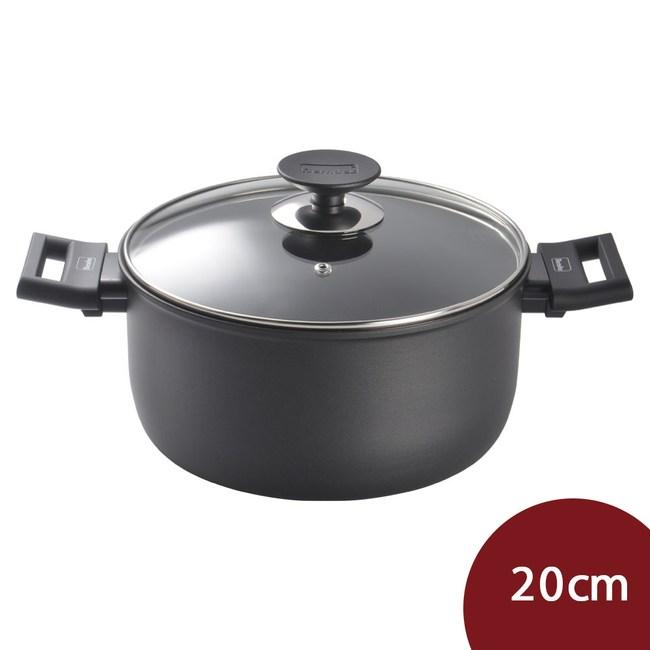 Berndes 寶迪鍋 Alu 特別版 雙耳不沾深湯鍋 含蓋 20cm 電磁爐不可用