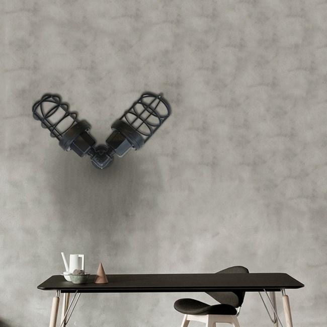 【H&R安室家】工業風雙頭壁燈