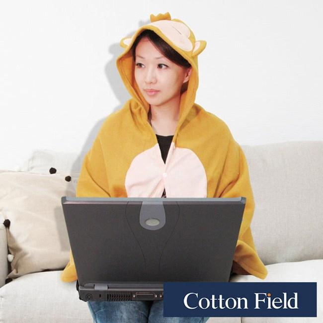 棉花田【可愛猴】Q版造型多功能創意保暖毯-2款可選(75X150cm)帥帥猴