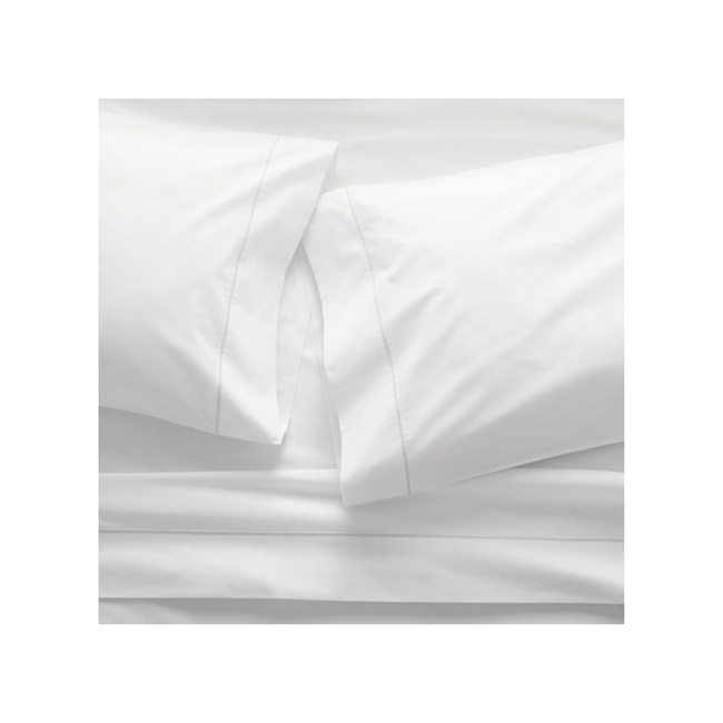 Crate&Barrel Percale 400TC床單組 標準雙人