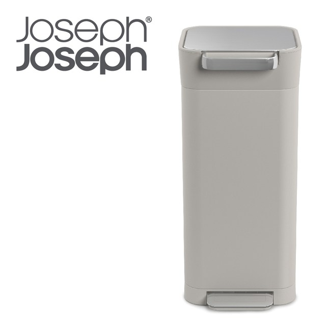 Joseph Joseph Titan 聰明環保壓縮式垃圾桶(白20L