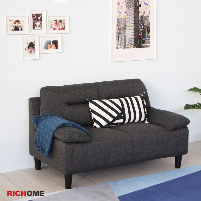 【RICHOME】愛麗雙人沙發