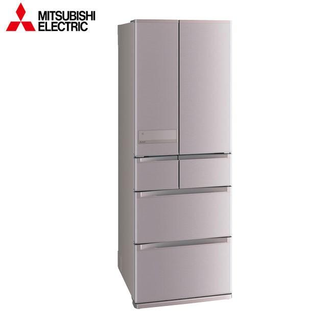 三菱525L六門變頻電冰箱(玫瑰金) MR-JX53C