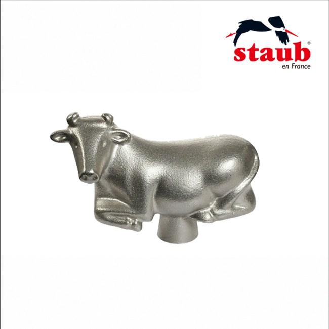 【法國Staub】牛造型鍋蓋頭