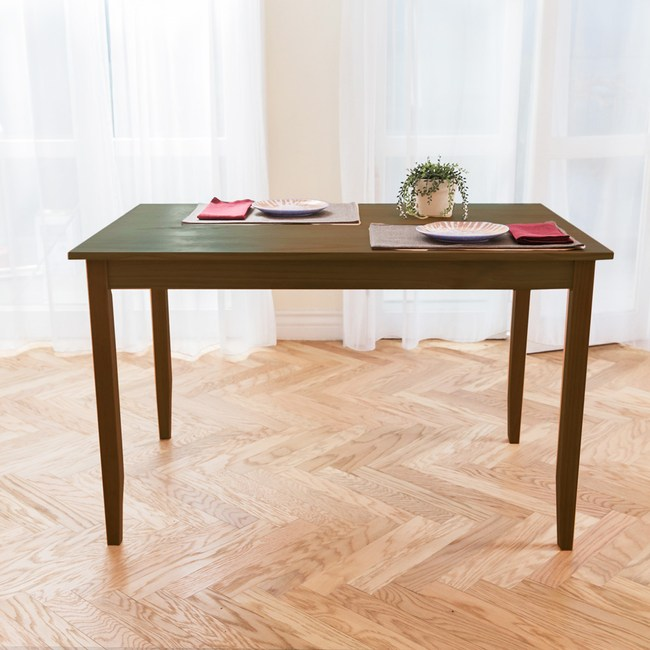 CiS 自然行 原木桌118x74cm (焦糖色)