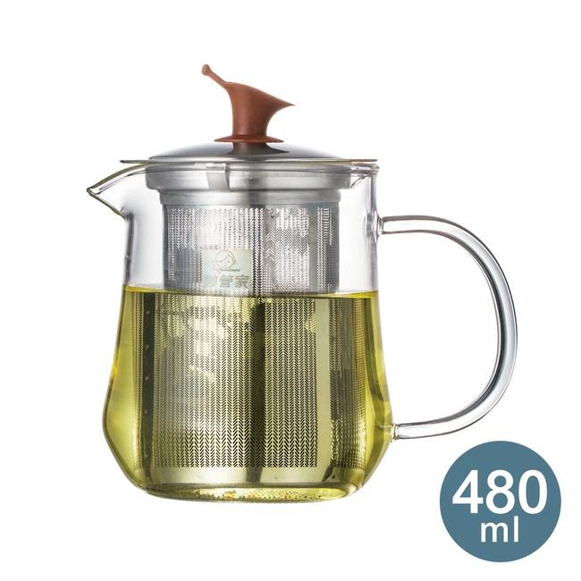 【妙管家】迎賓濾泡壺/泡茶壺480ml HKP-480(泡茶壺)