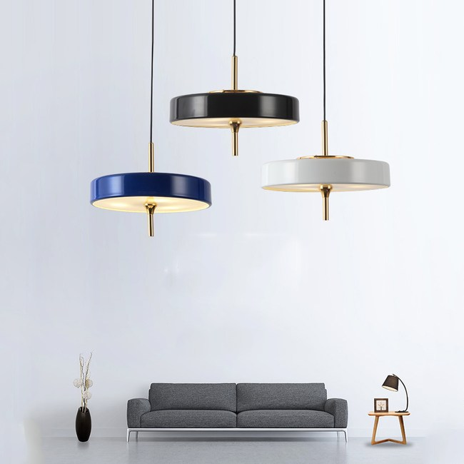 【obis】寧靜吊燈(三色)黑色