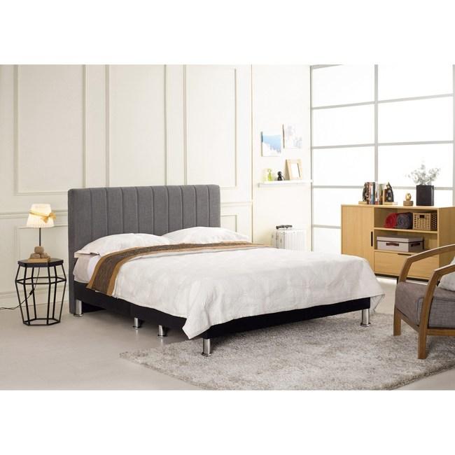 多琳灰布6尺雙人床組