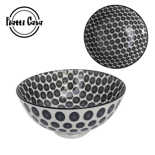 【Piatti Casa】6吋陶瓷反口餐碗-A19