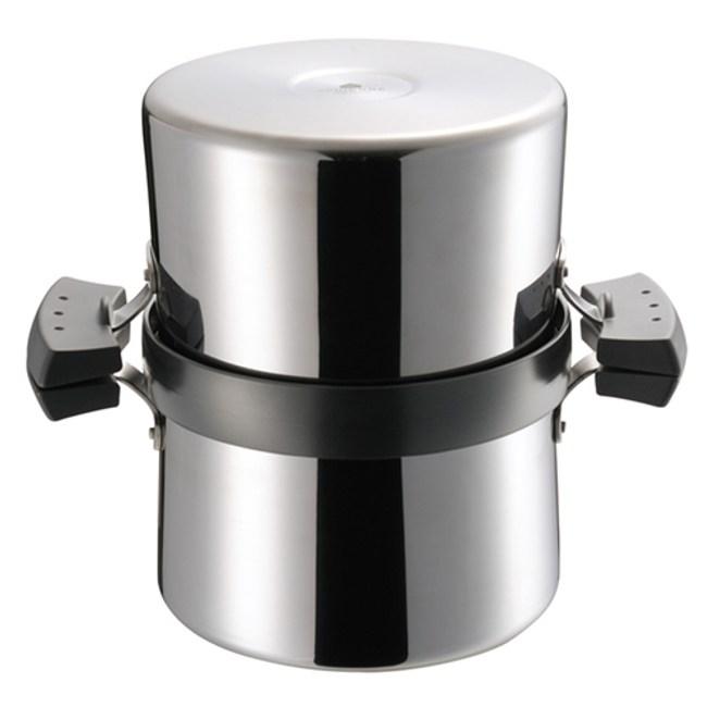 日本《UCHICOOK》健康兩用油炸鍋‧濾油壺(黑)