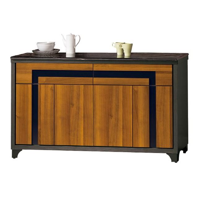 【YFS】吉伯特5尺石面餐櫃下座-150x45x81cm